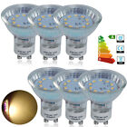 Buy 8 Get 2 Free 10 x GU10 48 SMD LED Bulbs Day / Warm White Light 5W Spot Bulb
