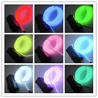 1M/2M/3M/5M EL Wire 2.3mm Neon Glow Light Christmas car decoration +Controller