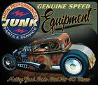 Genuine Speed Equipment Junk Parts Rat Rod Accent Throw Pillow Man Cave
