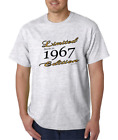 Novelty T-Shirt Limited Edition 1967 Birthday