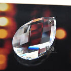 50mm New Clear Crystal Glass Facet Chandelier Wedding Curtain DIY Pendant Deco