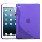 For Apple iPad Mini 1 / 2 / 3 - HARD RUBBER SILICONE GUMMY GEL CASE SKIN COVER