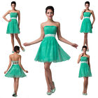 FAST FREE SHIP~Lady Bridal Evening Party Prom Formal Short Homecoming Club Dress
