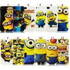 DESPICABLE ME Minions Phone Case Cover iPhone 4,4s,5,5s,iPod,s3,s4, **2 GIFTS**