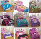 3pc Girls TWIN SHEET SET Single Bed Room Characters (COMFORTER sold separately)