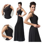 2014 Sexy V-Neck Long Ladies Beads Formal Evening Gowns Bridesmaids Ball Dresses