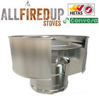 """Convesa 5"""" Or 6"""" Anti-Wind Cowl For Twin Wall Insulated Flue Pipe"""