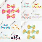 20Pcs Artificial Bowknot DIY Girls Hair Accessory Corsage Costume Applique Craft