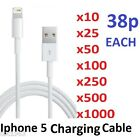NEW Sync Cable Lead USB Charger for Ipad iPhone 5/5s/5c WHOLESALE/BULK/JOB LOT