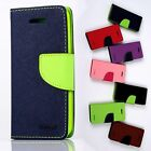 Mercury GOOSPERY Wallet Fancy Diary Stand Flip cover CASE for HTC One mini