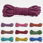 5m Faux Suede Jewellery Making DIY Thread String Cord Thong 3x1.5mm 30 Colours