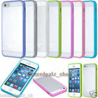 Ultra Thin Clear Acrylic TPU Bumper Case Hard Cover Skin For Apple iPhone 5 5S