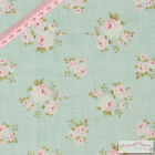 Tilda Millie Teal Fabric -  Quilting/Craft/Patchwork 100% cotton/Shabby Chic