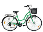 TIGER TOWN AND COUNTRY TRADITIONAL DUTCH STYLE TOWN BIKE inc BASKET 700c Womens