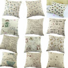 14 British Styles Home Decorative Pillow Covers Pillow Case Square Cushion Cases