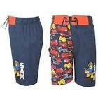 FIREMAN SAM:STUNNING MULTI COLOUR, SWIM,BOARD SHORTS,2/3,3/4,5/6YR,NEW WITH TAGS