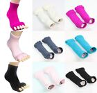 New Yoga Sports Massage Toe Socks Five Toe Separator Foot Alignment Pain Relief