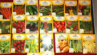 Burpee Vegetable and Herb Seeds, 31 Types, Packed in 2014, Free Shipping