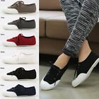 2ssg0597 lace-up canvas sneakers Made in korea