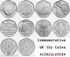 UK 50 pence coins 50p Commemorative Circulted FREE POSTAGE NHS, Victoria Cross