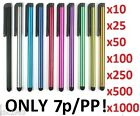 NEW Stylus Pen for Apple Iphone Ipad Galexy WHOLESALE/BULK/JOB LOT *SALE*