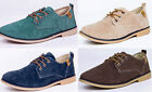 2014 New Men's Suede Leather Shoes Lace Up Casual Loafers Casual Sneakers