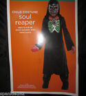 BOYS SOUL REAPER COSTUME WITH PULSATING CHEST 2 SIZES SMALL & MEDIUM NWT