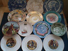 FINE ENGLISH PLATES bone china, china etc Wedgwood,Staffs,Winton chose from menu