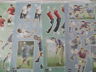 A4 Die Cut Cardmaking Decoupage Sheet Sports Hunkydory Various Designs