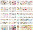 ST10 1 Sheet, 6 Sheets 4-in-1 Nail Art Water Transfers Decals-BOP001-095 C001-47