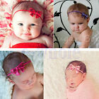 Cute Baby Girl Headband Infant Toddler Bow Hair Band Girls Accessories Photo WT