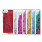 Glitter Stars Bling Dynamic Liquid Quicksand Case Cover For Apple iPhone 5 5S