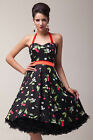 ❤Very Cheap❤ Vintage Retro Floral Party 50s Cocktail Prom Rockabilly Swing Dress
