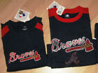 New 2 Imagewear Geniune Atlanta Braves Jersey Shirts Get 2 Styles in One Size!!!