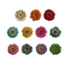 DF007 20 Pcs, 200 Pcs 10mm x 10mm Nail Art Mini Dried Flower Set