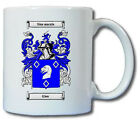 GLEW COAT OF ARMS COFFEE MUG