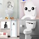 Toilet Decal Smiley Face Peep Bathroom Funny Vinyl Stickers Boy Mural Wall Art