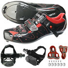 XPEDO Carbon Road Bike Bicycle Shimano SPD SL Cycling Shoes & Pedals