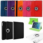 Leather 360° Degree Rotating Case Cover Stand For Apple iPad Mini / iPad Air