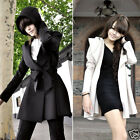 100% Brand new high quality Slim elegant and Ladies long coat jacket