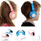 Childrens Blue Pink DJ Stereo Kids Folding Headphones for Vtech InnoTab 3 Plus