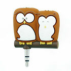 Headphone Splitter Novelty Characters I Pod MP3 Player Phone Aux compatible