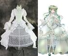 H-3271 n Maß Vocaloid Miku Grace Edition white Cosplay Kostüm costume Ball-Kleid