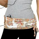 HipRap Hip Wrap Belt with Pockets for Cell Phone iPod Keys Hands Free Storage