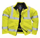 rescue / recovery  clothing, hi viz bomber jacket with recovery print, en.471