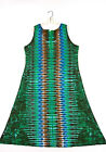 TIE DYE Women's Tank Top Dress Green DNA hippie boho gypsy sm med lg xl 2X 3X