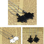 1PC New Gift Mens Women Couple Stainless Steel Puzzle Pendant Necklaces Vogue
