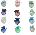 "20pc 10x8cm Premium Organza Heart Shape All Occasions Gift Pouches Bags 4""x3.5"""