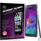 Samsung Galaxy Note 4 High Quality Crystal Clear LCD Screen Protector Packs