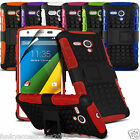 Motorola Moto G 4G G2 2nd Gen Anti Shock Proof Stand Kickstand Builders Case